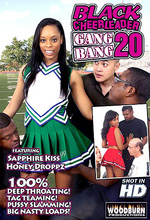 black cheerleader gangbang 20